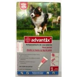 ADVANTIX 4 X 2.5 ML
