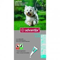 ADVANTIX 6 X 1.0 ML ENTRE 4 Y 10 KG