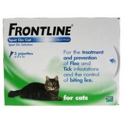 FRONTLINE SPOT ON GATOS 3 PTAS