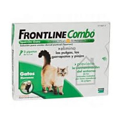 FRONTLINE SPOT ON COMBO GATOS 3 PTAS